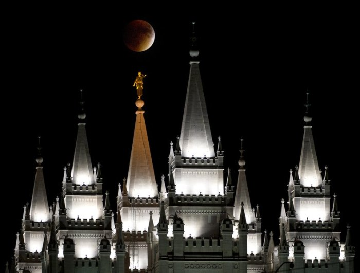 Temple Super Moon