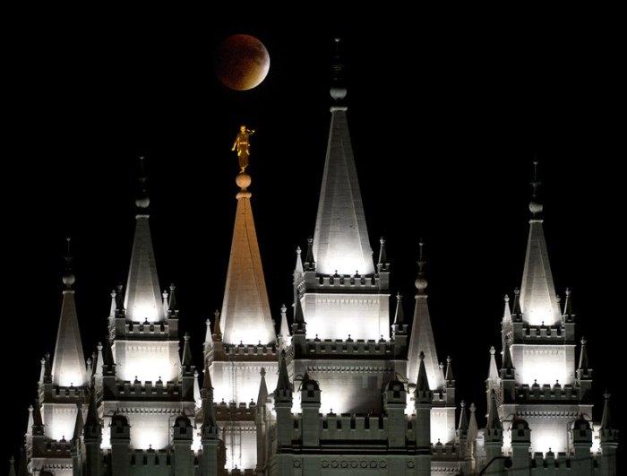 Temple Super Moon