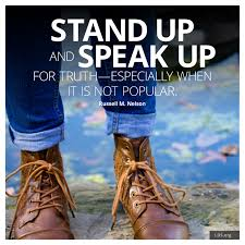 Stand Up & Speak UP