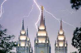 Salt Lake Temple Lighting