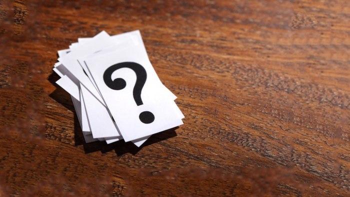 29 Questions – Tocubit Is Invisible's Cubit