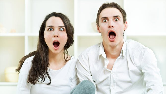 Couple Shocked