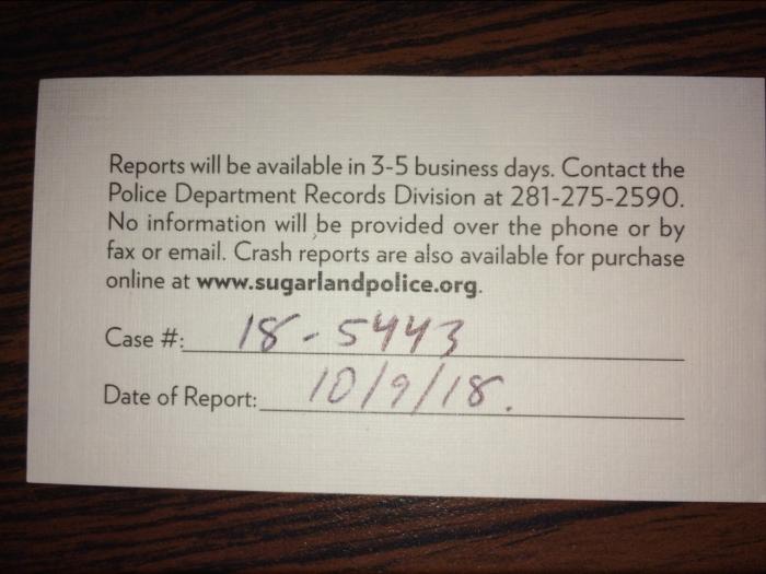 Police Case